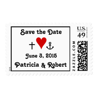 Faith Hope Love | Save the Date Postage