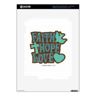 faith hope love iPad 3 decal