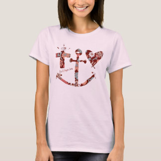 Faith, Hope, Love Symbols T-Shirt