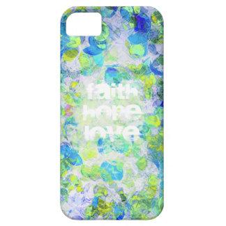 Faith, Hope, Love Version2 iPhone SE/5/5s Case