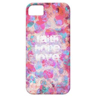 Faith Hope Love Version3 iPhone SE/5/5s Case