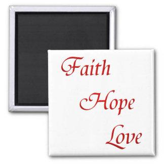 Faith Hope Love (Virtues Product) Magnet