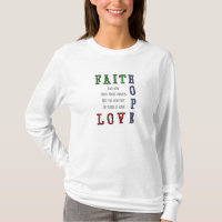 Faith, Hope, Love Women's Hoody
