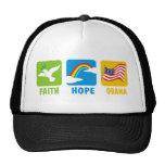 Faith Hope Obama T Shirts Trucker Hat