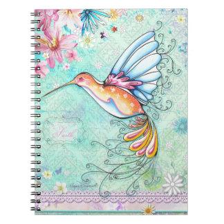 Faith Hummingbird Notebook