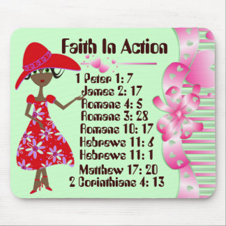 Faith In Action Mouse Pad