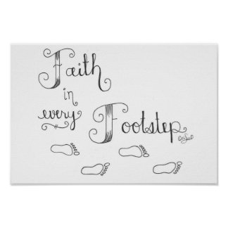 Faith in Every Footstep Poster