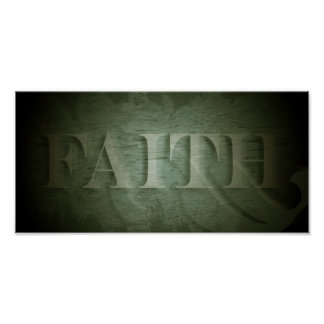 Faith (in green) poster