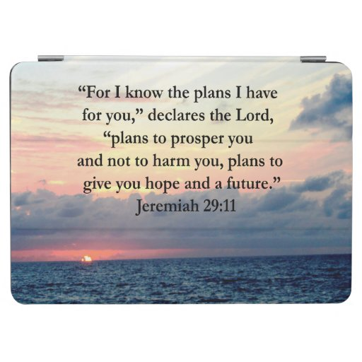 Faith In Jeremiah 29 11 Sunrise Verse Ipad Air Cover Zazzle