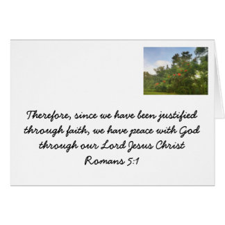 Faith in Jesus Stationery Note Card