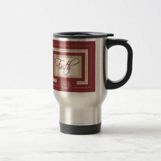 Faith in Red - Hebrews 11:6 Coffee Mugs
