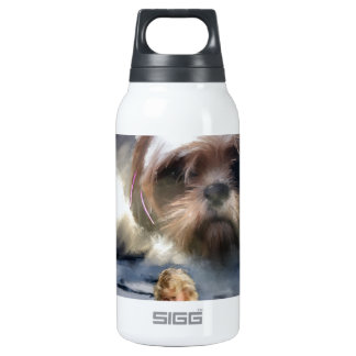 faith in the future insulated water bottle