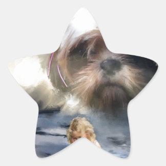 faith in the future star stickers