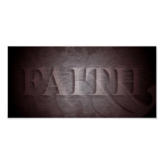 Faith (in wine) poster