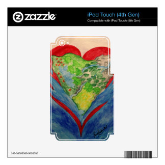 Faith in your Heart iPod Touch 4G Skin