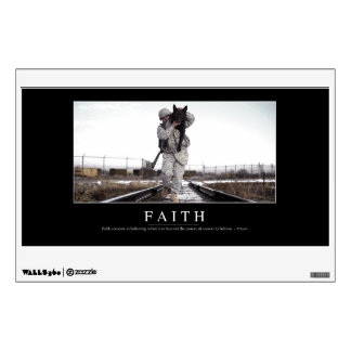 Faith: Inspirational Quote Wall Sticker