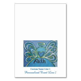 Faith Inspirational Word Angel Table Tent Cards Table Card