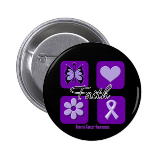 Faith Inspirations Cancer Awareness 2 Inch Round Button