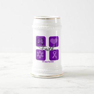 Faith Inspirations GIST Cancer 18 Oz Beer Stein