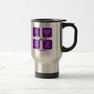 Faith Inspirations GIST Cancer Travel Mug