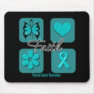 Faith Inspirations Ovarian Cancer Mouse Pad