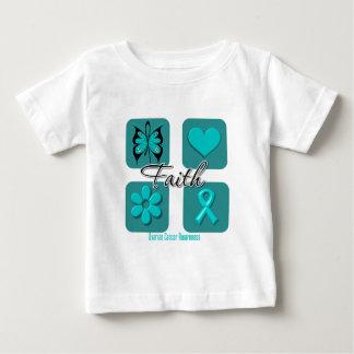 Faith Inspirations Ovarian Cancer Shirts