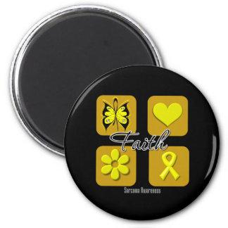 Faith Inspirations Sarcoma 2 Inch Round Magnet