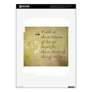 Faith iPad 3 Decal