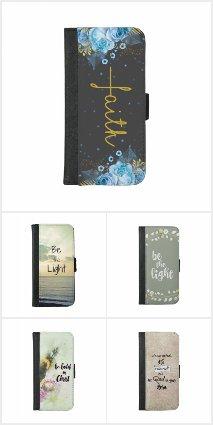 Faith iPhone Wallet Cases