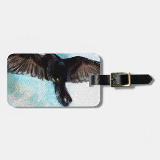 Faith is a raven bag tag