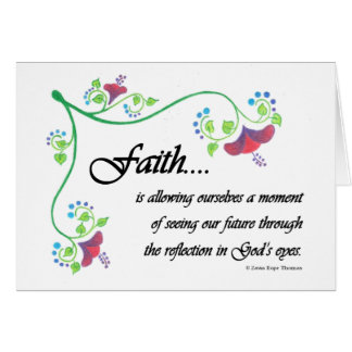 Faith is card