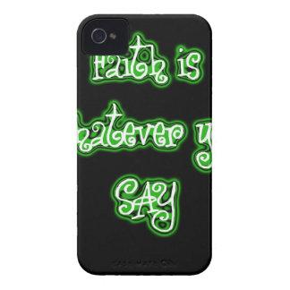 FAITH IS iPhone 4 COVER