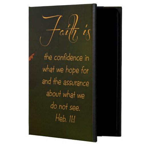 Faith is...Inspirational Scripture Case For iPad Air