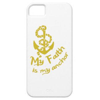 FAITH IS MY ANCHOR iPhone 5 COVER