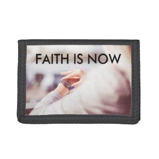 Faith is Now Tri-fold wallet