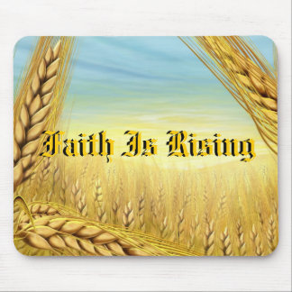 Faith Is Rising Religion and Inspiration Mouse Pad