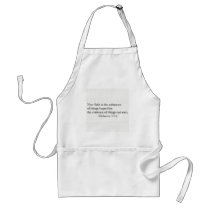 Faith is the Substance of Things Hoped for Adult Apron