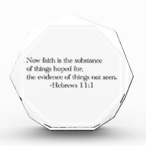 Faith is the Substance of Things Hoped for Award
