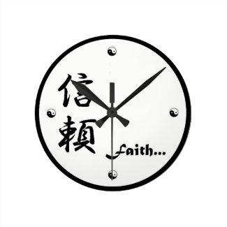 Faith Kanji Clock