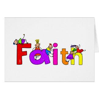Faith Kids Card