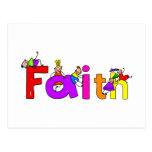 Faith Kids Postcard