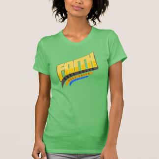 Faith Ladies Melange Ringer T-shirt