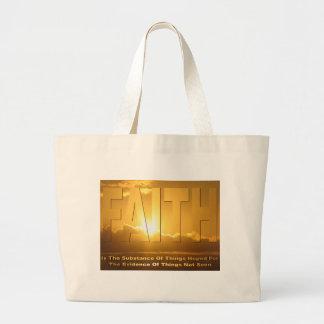 Faith Large Tote Bag