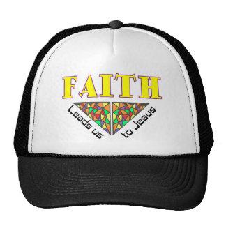Faith leads us to Jesus Trucker Hat