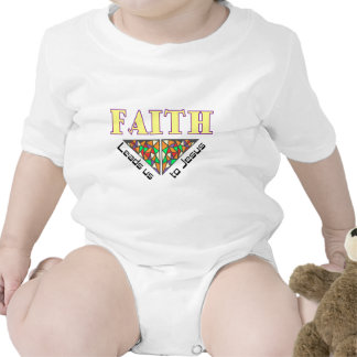 Faith leads us to Jesus Rompers