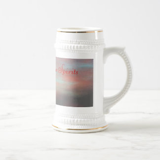 Faith Lifts Our Spirits Beer Stein