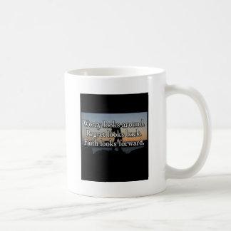 Faith Looks Forward Coffee Mug