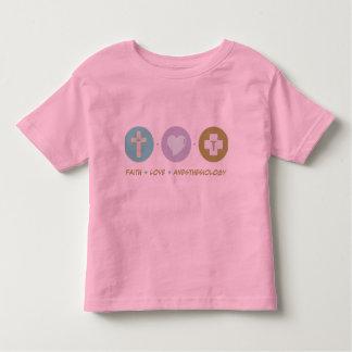 Faith Love Anesthesiology T-shirt