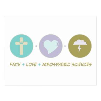 Faith Love Atmospheric Sciences Postcard