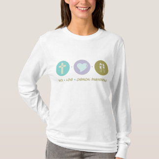Faith Love Chemical Engineering T-Shirt